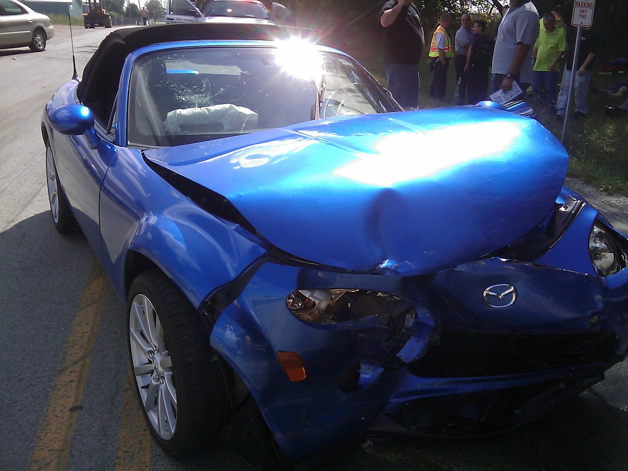 Car accident injury severe